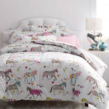 Colorful Comforters For Girls Super Cozy Kids Comforter Designed With A Colorful Carousel Of