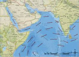 Wind Direction Map The Maritime Rhythms Of The Indian Ocean Monsoon Shipwrecks And