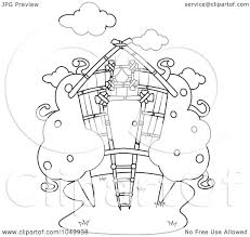 treehouse coloring pages free printable house coloring pages for