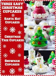 three easy christmas cupcakes i knead to eat