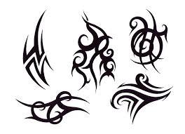 tribal design img1239 tribal flash tatto sets