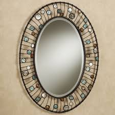 Decorative Mirrors For Bathrooms Bathroom Mirrors For Bathrooms Ideas Hung On Wall With Oval