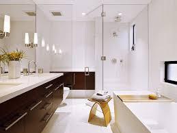 small modern bathroom design modern bathroom vanities near bathtub with grey granite backsplash