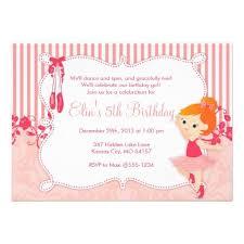 214 best ballerina birthday party invitations images on pinterest