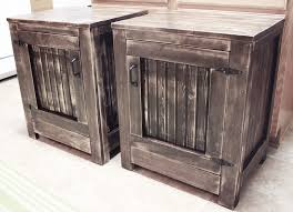 Build Wooden End Table by Diy Show Off Diy Decorating Outdoor Decor And Restoration Hardware