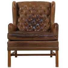 Leather Wing Back Chairs Best 25 Leather Wingback Chair Ideas On Pinterest Leather