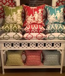 palm beach color stacks coastal pillows beach pillows
