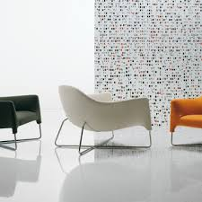 Contemporary Armchairs Cheap Seat On The Cross Shaped Base With Ottoman Bali Armchair