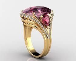 gemstone rings images Exquisite gemstone rings 3d print model cgtrader jpg