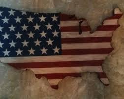 wooden united states wall united states flag etsy