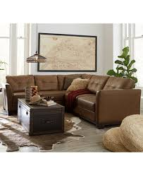 martino leather sectional living room furniture collection