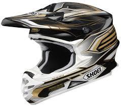 motocross helmets for sale shoei mx helmet shoei vfx w malice motocross helmet black gold