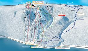 Mt Snow Trail Map Trail Map Le Massif De Charlevoix