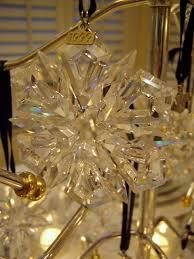 Swarovski Christmas Ornaments On Sale by Winter Table Setting With Swarovski Ornament Centerpiece