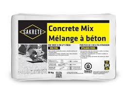 Concrete Takeoff Spreadsheet Sakrete Concrete Mix U003e King Home Improvement Products