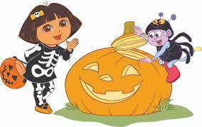 halloween puzzles online image dora halloween jpg dora the explorer wiki fandom