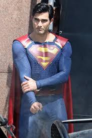 tyler hoechlin costume superman
