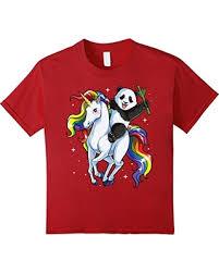 Meme Gifts - savings on kids panda riding unicorn t shirt funny meme rainbow