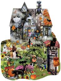 halloween jigsaw puzzles puzzlewarehouse com