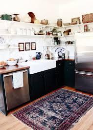 cuisine boheme chic tapis de cuisine design pour une déco au top chez vous
