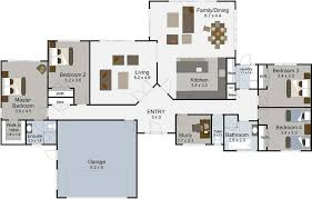one story house blueprints house plan 4 bedroom house plans one story modern bedroom inspired