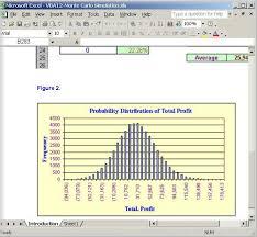 Monte Carlo Simulation Excel Template Monte Carlo Simulation Template Monte Carlo Simulation Monte