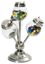 five and dime candy stand contemporary kitchen canisters and