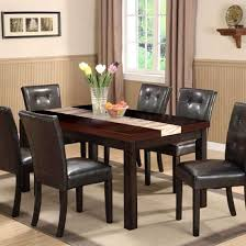 Dining Room Accents Dining Table Chairs Leather Room Chair Wooden Set Amazing Sets