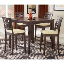 Counter Height Dining Room Table Sets by Furniture Of America Gizelle 5 Piece Counter Height Table Set