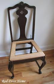 how to cover a chair door home how to cover a dining room chair