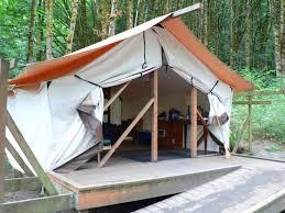 tent platform laura s blog cing at dosewallips state park