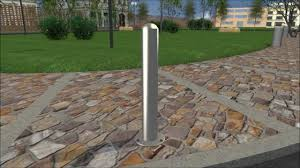 installing stainless steel post covers with a flanged surface
