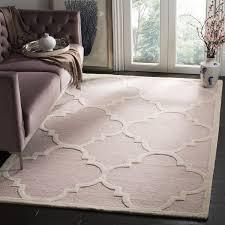 light pink wool rug safavieh handmade moroccan cambridge light pink ivory wool rug 8