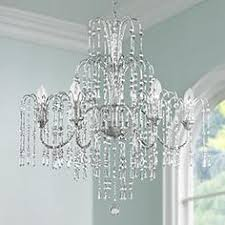 Crystal Dining Room Chandeliers Lamps Plus - Crystal chandelier dining room