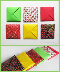 how to make envelopes a menko how to make a traditional origami envelope
