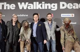 new walking dead cast 2016 the walking dead cast interview in greece video