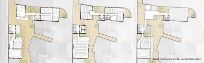 ezbet community center competition architecture on behance