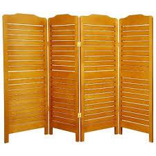 Folding Screen Room Divider Oriental Furniture Modern Mission Furniture 48 Inch Low Venetian