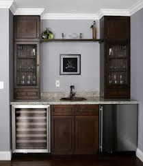 Wall Bar Cabinet Furniture Fancy Wet Bar Cabinet Ideas Cabinets Kitchen Wine