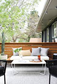 Modern Outdoor Coffee Table A Modern Outdoor Makeover On A Budget Annabode Co