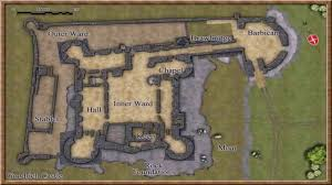 medieval castle floor plan images youtube