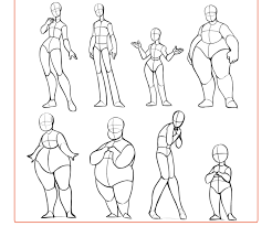 sheet types lunaartgallery this reference sheet includes 50 body types for