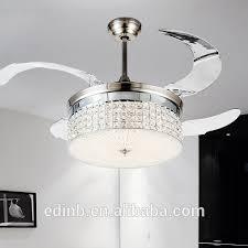 Ceiling Fan Light Invisible Fan Blades Ceiling Fan Light Remote Led