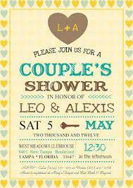 couples shower invitation wording best shower