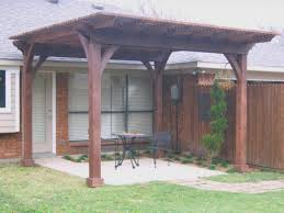 Covered Patio Designs Design Ideas Backyard Arbor And Attached by Exterior Projects Wiescamp Woodcraft Pergola Next To House But