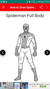 draw spider man android apps google play