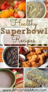 healthy super bowl recipes egg free sugar free and dairy
