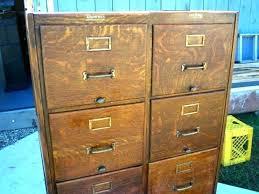 Antique Oak File Cabinet Antique Wooden File Cabinets For Sale Justproduct Co