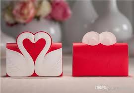 wedding candy favors swan candy favor box wedding candy box wedding box wedding favors