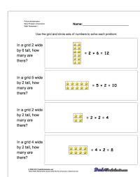 multiplication grid method worksheet generator ks koogra